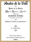 Anales de la Vida del Padre de la Patria Miguel Hidalgo y Costilla