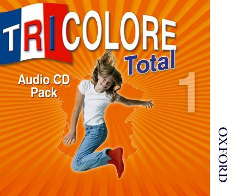 Tricolore Total 1 Audio CD pack (5x Class CDs 1x Student CD)
