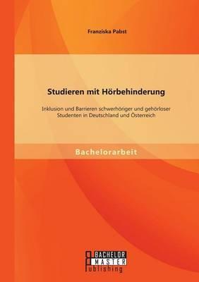 Studieren mit Hörbehinderung