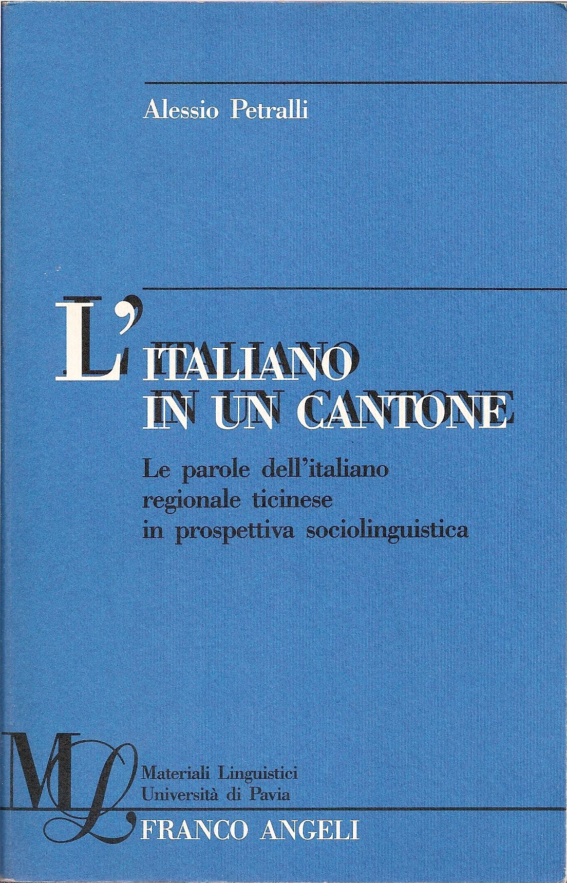 L' italiano in un cantone