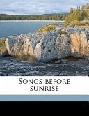 Songs Before Sunrise