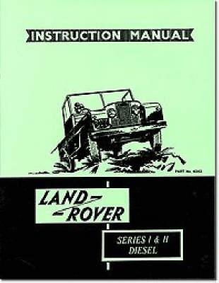 Land Rover Owners' Handbook
