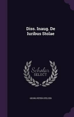 Diss. Inaug. de Iuribus Stolae