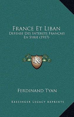 France Et Liban