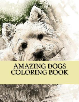 Amazing Dogs Coloring Book