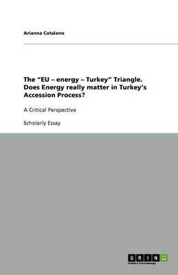 """The """"EU - energy - Turkey"""" Triangle. Does Energy really matter in Turkey's Accession Process?"""