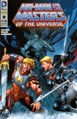 He-Man and the Masters of the Universe #9