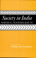 Society in India: Change and continuity