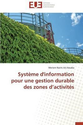 Systeme d'Information pour une Gestion Durable des Zones d Activites