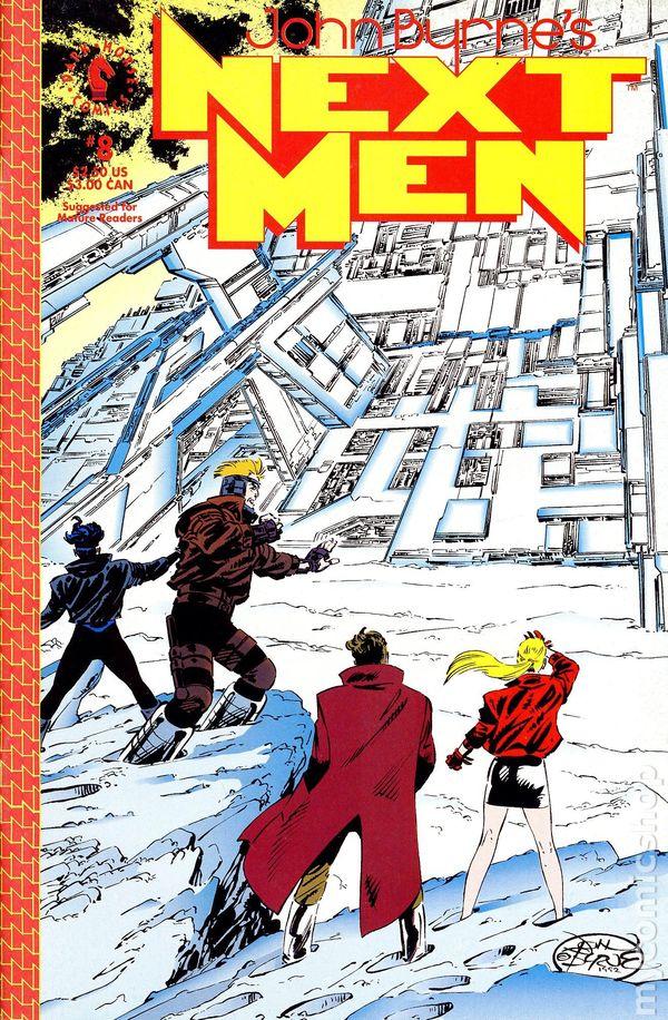 John Byrne's Next Men Vol.1 #8