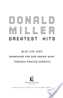 Donald Miller Greate...
