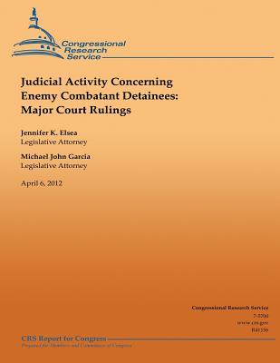 Judicial Activity Concerning Enemy Combatant Detainees