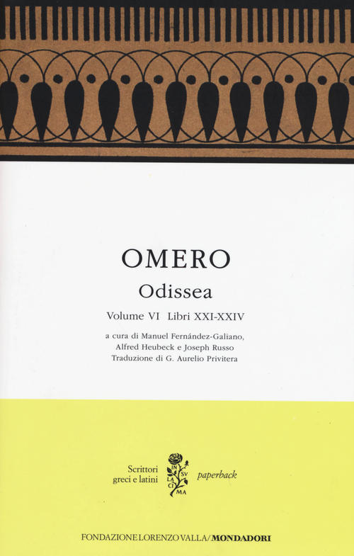 Odissea, vol. 6