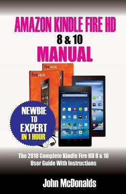 Amazon Kindle Fire HD 8 & 10 Manual