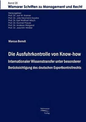 Die Ausfuhrkontrolle Von Know-How