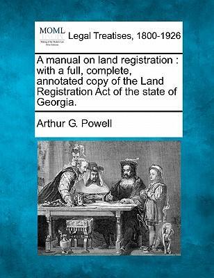A Manual on Land Registration