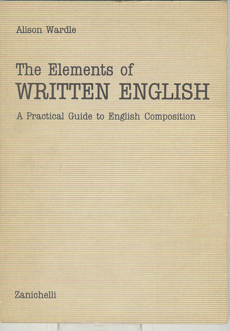 the elements of written english