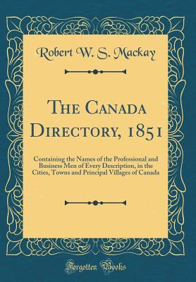 The Canada Directory, 1851