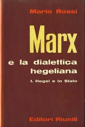 Marx e la dialettica hegeliana