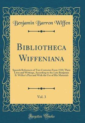 Bibliotheca Wiffenia...