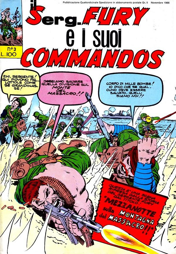 Il serg. Fury e i suoi commandos n. 3