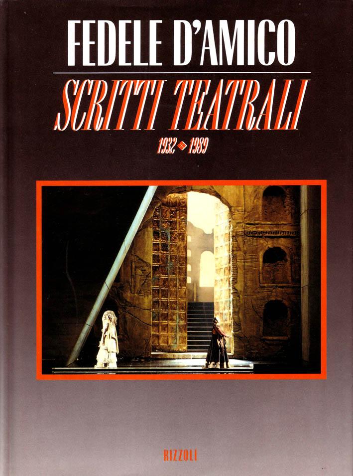 Scritti teatrali : 1932-1989