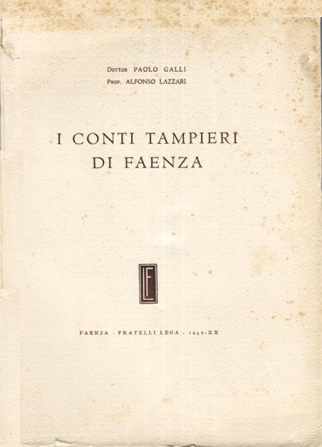 I conti Tampieri di Faenza