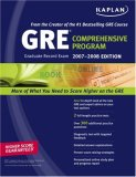 Kaplan GRE Exam 2007-2008 Comprehensive Program
