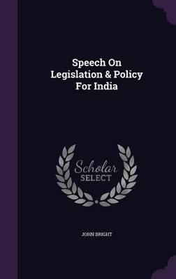 Speech on Legislatio...