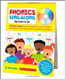Phonics Sing-Along Flip Chart and CD