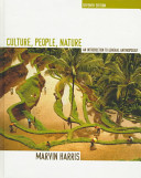 Culture, People, Nature