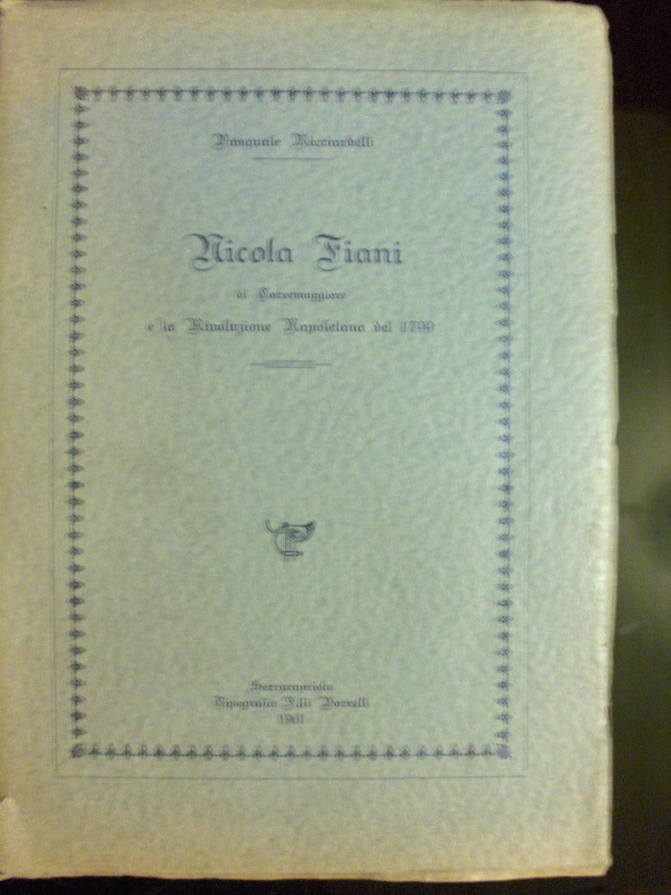 Nicola Fiani di Torr...
