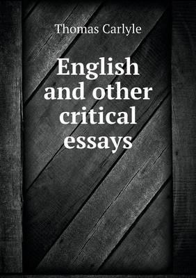 English and Other Cr...
