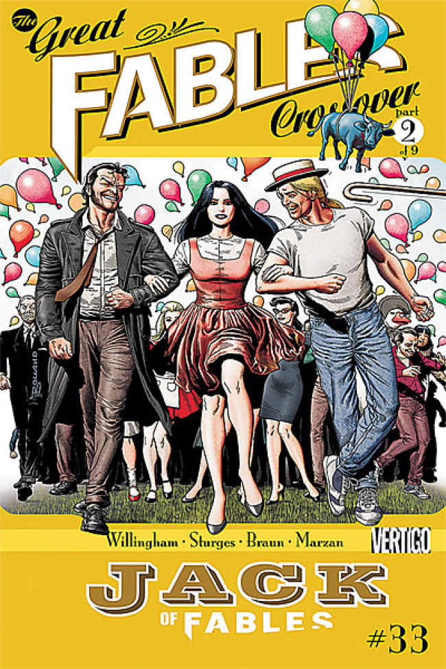 Jack of Fables n. 33