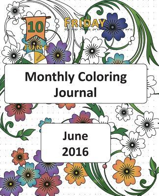 Monthly Coloring Journal