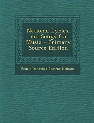 National Lyrics, and Songs for Music