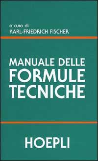 Manuale delle formule tecniche