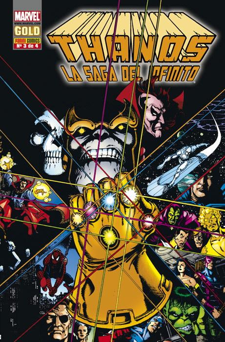 Thanos: La saga del infinito #3 (de 4)