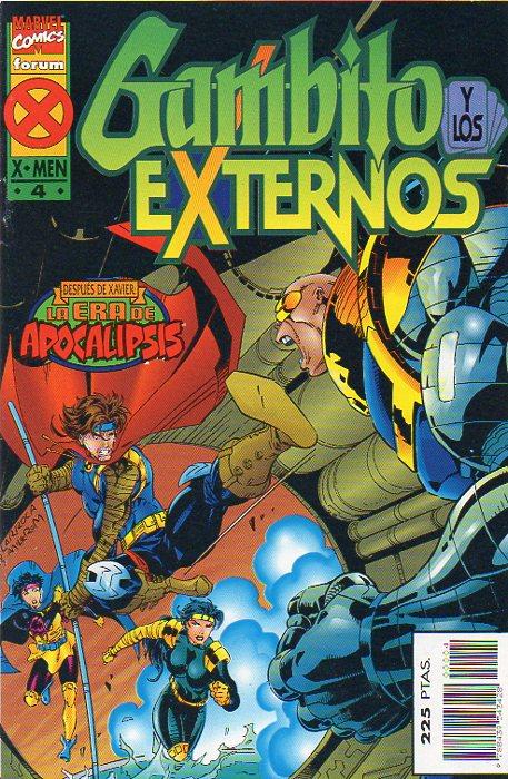 Gambito y los Externos Vol.1 #4 (de 4)