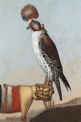 Painting of an Icelandic Gyrfalcon Journal
