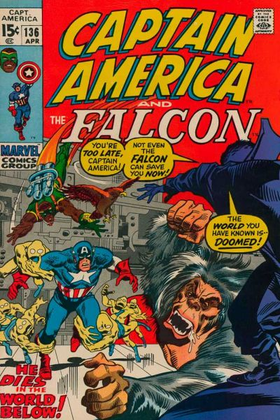 Captain America Vol.1 #136