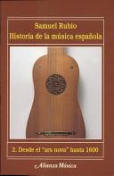 Historia de la música española. 2. Desde el «ars nova» hasta 1600