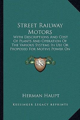 Street Railway Motors Street Railway Motors
