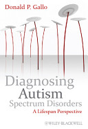 Diagnosing Autism Spectrum Disorders