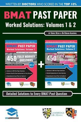 BMAT Past Paper Worked Solutions