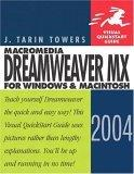 Macromedia Dreamweaver MX 2004 for Windows and Macintosh