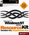 Microsoft Windows Nt Server Resource Kit Version 4.0