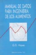 Manual de datos para ingeniería de los alimentos