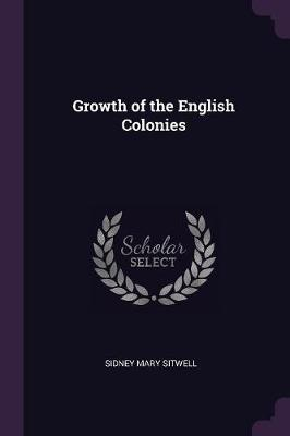 Growth of the English Colonies