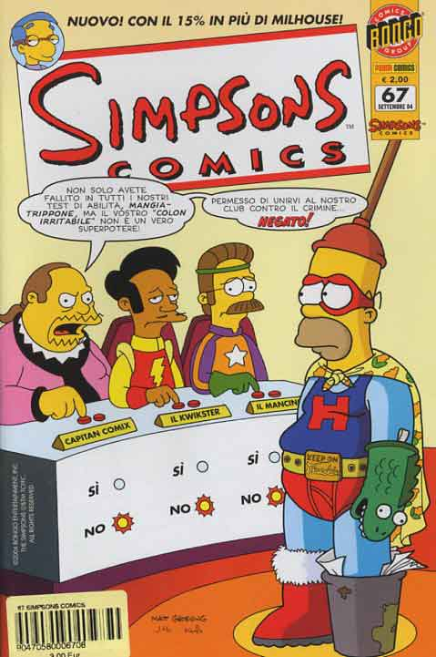 Simpsons Comics n. 67